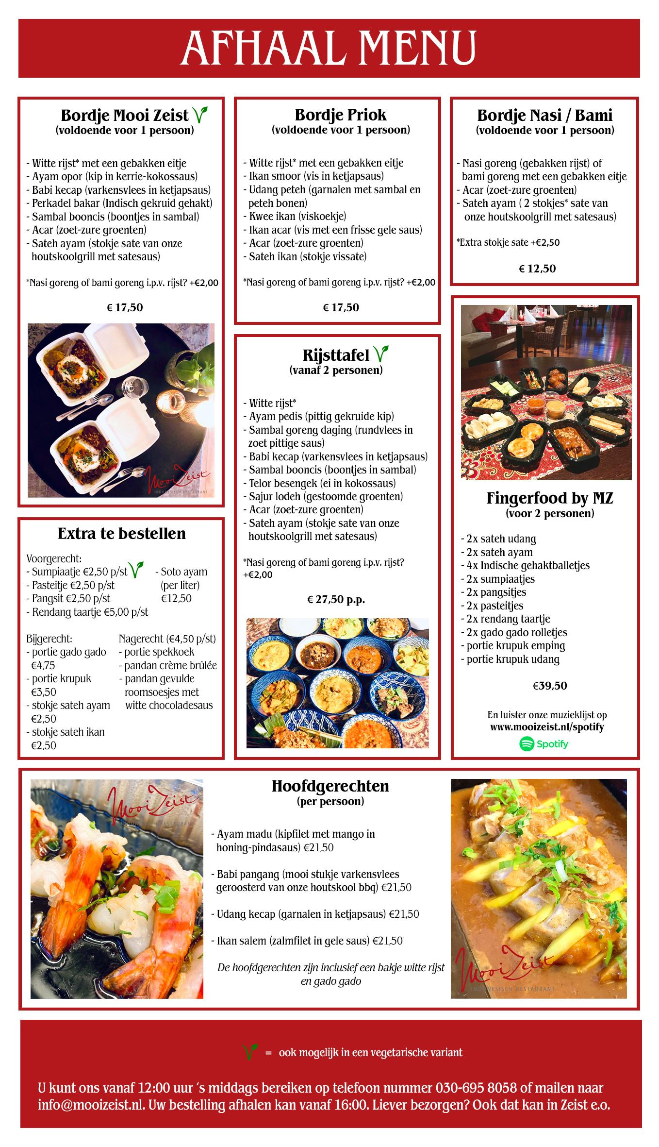 Mooi Zeist Indonesisch Restaurant In Zeist