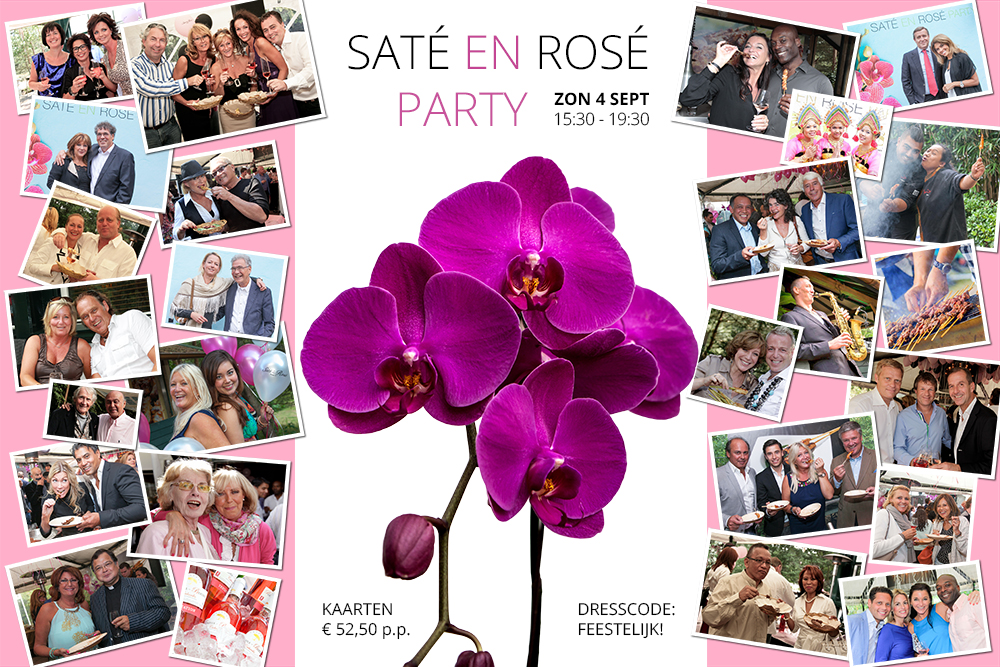 Sate en Rose party Mooi Zeist
